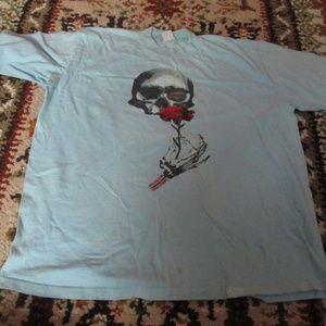 Vtg Hawaii Crazy Shirts Museum Macabre Shirt XL